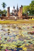 Travel photography:Sukhothai temple complex, Thailand