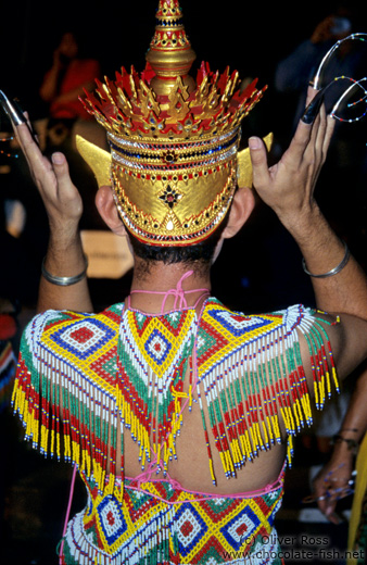 Dance costume during the Loi Krathong festival