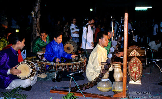 Traditional Thai music band