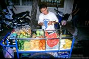Travel photography:Fruit vendor, Thailand