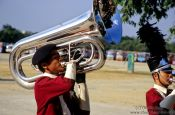 Travel photography:Tuba player, Thailand