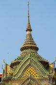 Travel photography:Stupa at Wat Pho temple, Thailand