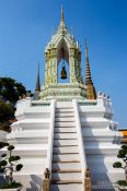 Travel photography:Bell tower at Wat Pho temple, Thailand