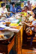 Travel photography:Eating Pat Thai in Trang, Thailand