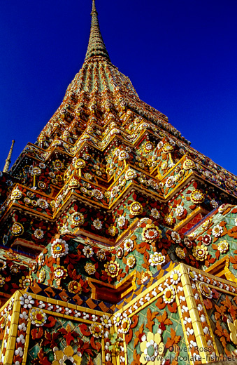One of the giant stupas in Wat Pho
