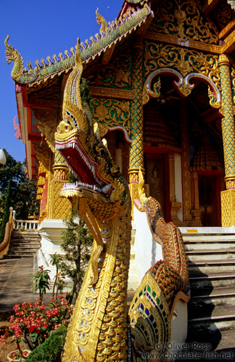 Temple in Chiang Rai province