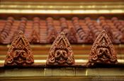 Travel photography:Roof detail at Wat Benchamabophit, Thailand