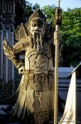 Travel photography:Stone guardian at Wat Pho, Thailand