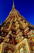 Travel photography:One of the giant stupas in Wat Pho, Thailand