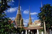Travel photography:The Wat Pho temple complex, Thailand