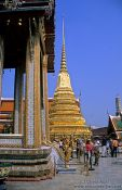 Travel photography:Wat Phra Kaew in Bangkok, Thailand