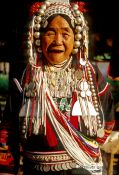Travel photography:Akha Woman in Chiang Rai province, Thailand