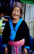 Travel photography:Akha Woman, Chiang Rai province, Thailand