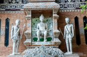 Travel photography:Sculptures in Chiang Mai, Thailand