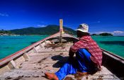 Travel photography:Boating through Ko Tarutao Ntl Park, Thailand