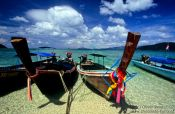 Travel photography:Longtail boats in Ko Tarutao Ntl Park, Thailand