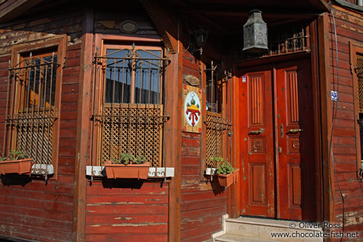 Traditional Ottoman house in Sultanahmet district