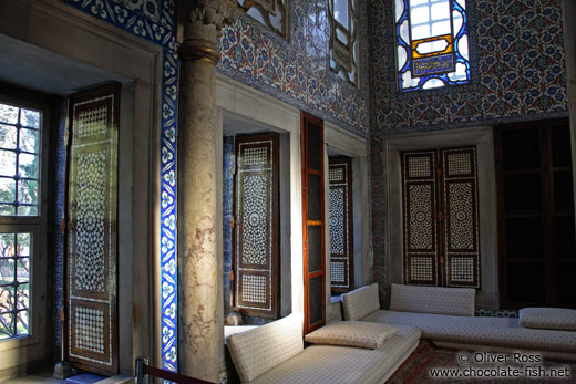 The main library of the Topkapi Palace