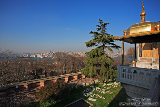 View of Istanbul from the Topkapi palace walls