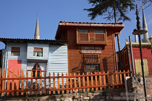 Small replicas of old Ottoman houses