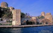 Travel photography:Fortress on the Bosporus near Bebek, Turkey