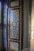 Travel photography:Window shutter in the library of the Topkapi palace, Turkey