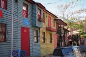 Travel photography:Small replicas of old Ottoman houses, Turkey