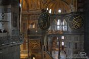 Travel photography:Inside the Ayasofya (Hagia Sofia), Turkey