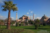 Travel photography:View of the Ayasofya (Hagia Sofia), Turkey