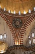 Travel photography:Inside the Süleymaniye Mosque, Turkey