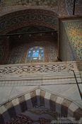Travel photography:Inside the Sultanahmet (Blue) Mosque, Turkey