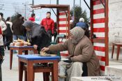 Travel photography:Selling pigeon food outside the Yeni Mosque in Istanbul, Turkey