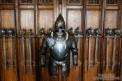 Travel photography:Armoury in Edinburgh castle, United Kingdom