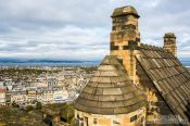 Travel photography:View from Edinburgh castle, United Kingdom