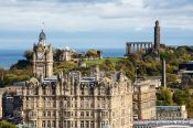 Travel photography:View of Calton hill in Edinburgh, United Kingdom