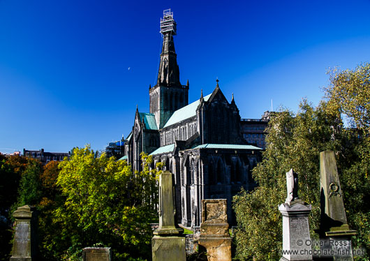 Glasgow Cathedral viewed from the Necropolis