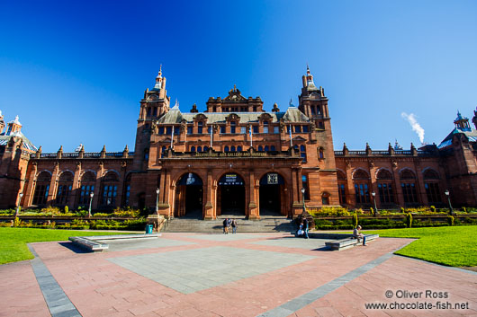The Glasgow Kelvingrove Gallery and Museum