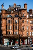 Travel photography:Glasgow building, United Kingdom