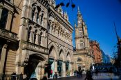 Travel photography:Glasgow Buchannan Street, United Kingdom