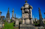 Travel photography:Glasgow Necropolis, United Kingdom