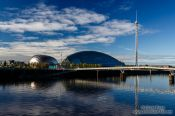 Travel photography:The Glasgow Science Centre, United Kingdom