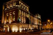 Travel photography:Glasgow by night, United Kingdom