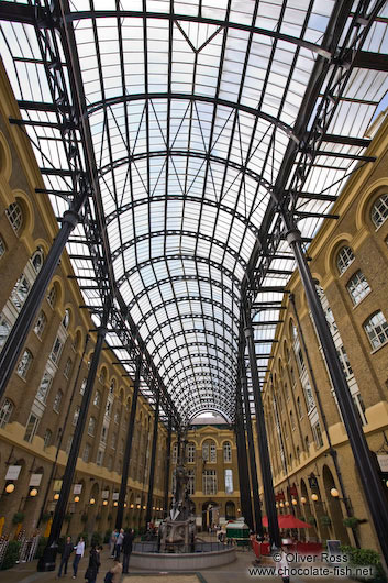 The Hay´s Galleria in London
