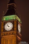 Travel photography:London´s Big Ben by night, United Kingdom, England