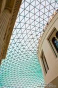 Travel photography:Inside London´s  British Museum , United Kingdom, England