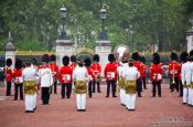 Travel photography:Changing of the guards outside London´s Buckingham Palace, United Kingdom, England