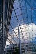 Travel photography:Modern glass construction in the City of London, United Kingdom, England