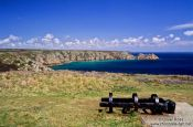 Travel photography:View of the Cornwall coast near Lizard, United Kingdom England