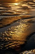 Travel photography:Sand at Highcliff Beach, United Kingdom