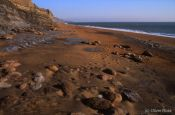 Travel photography:Whale Chine Beach on the Isle of Wight, United Kingdom